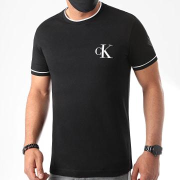 Calvin Klein - Tee Shirt Tipping CK Essential 5610 Noir