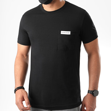 Calvin Klein - Tee Shirt Poche Institutional 5613 Noir