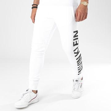 Calvin Klein - Pantalon Jogging Puff Print Hwk 5651 Blanc