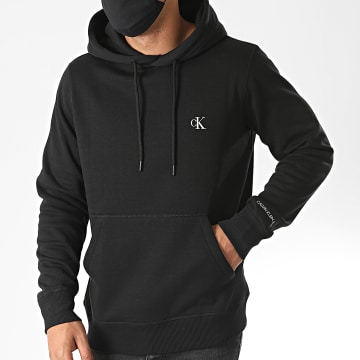 Calvin Klein - Sweat Capuche CK Essential Regular 5713 Noir