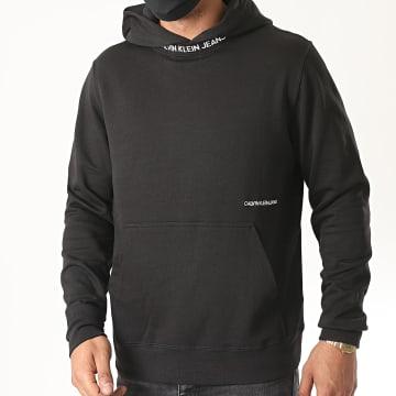Calvin Klein - Sweat Capuche Subtle Institutional 5975 Noir