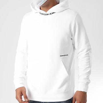 Calvin Klein - Sweat Capuche Subtle Institutional 5975 Blanc
