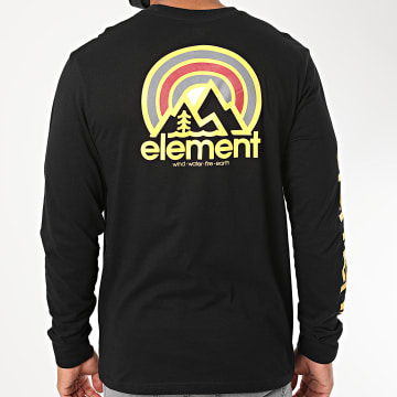Element - Tee Shirt Manches Longues Sonata Noir