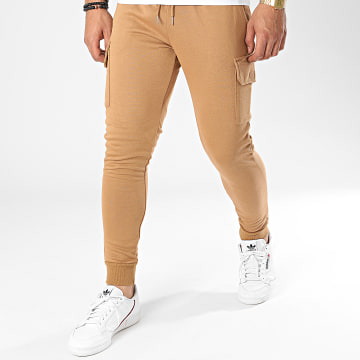Frilivin - Pantalon Jogging BM1138 Marron