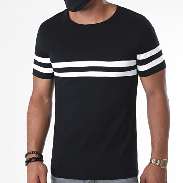 LBO - Tee Shirt 1103 Noir Blanc