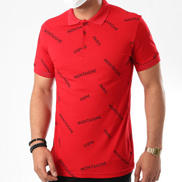 Classic Series - Polo Manches Courtes TS22-01 Rouge