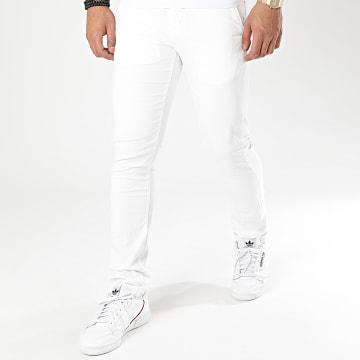 Paname Brothers - Pantalon Chino Costa Blanc