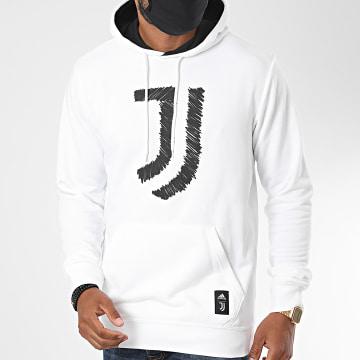 adidas - Sweat Capuche Juventus DNA FR4219 Blanc