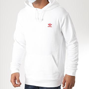 Adidas Originals - Sweat Capuche Essential GD2561 Blanc