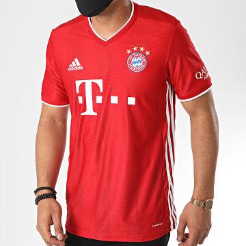 Adidas Performance - Tee Shirt A Bandes FC Bayern FR8358 Rouge
