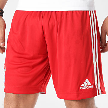 Adidas Performance - Short Jogging A Bandes FC Bayern FQ2903 Rouge