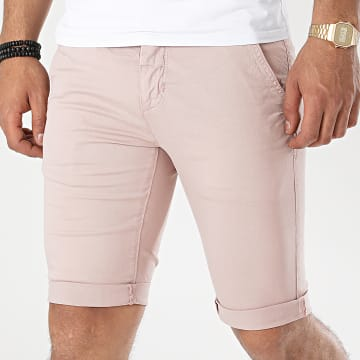 Paname Brothers - Short Chino Brive Rose Clair