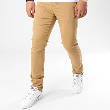 Paname Brothers - Pantalon Chino Costa Beige