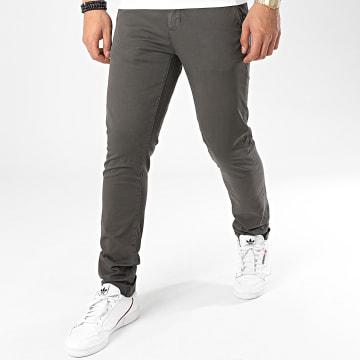 Paname Brothers - Pantalon Chino Costa Gris Anthracite