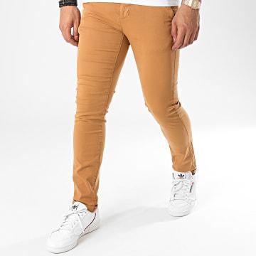 Paname Brothers - Pantalon Chino Costa Camel