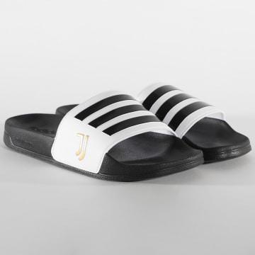 Adidas Performance - Claquettes Adilette Shower FW7075 Juventus Noir Blanc
