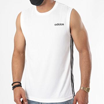 adidas - Débardeur A Bandes D2M DU1249 Blanc