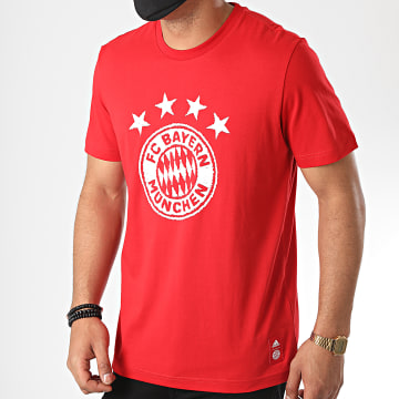 Adidas Performance - Tee Shirt Bayern Munich FR3966 Rouge