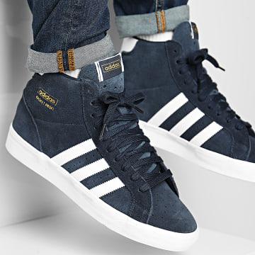 Adidas Originals - Baskets Profi FW4514 Collegiate Navy Footwear White Gold Metal