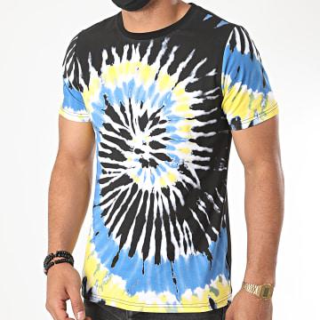 Berry Denim - Tee Shirt Tie Dye XP018 Noir Bleu