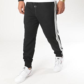 Diesel - Pantalon Jogging A Bandes Peter 00ST1N-0TAWI Noir