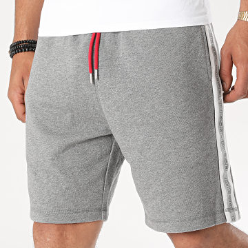 Diesel - Short Jogging A Bandes Eddy Calzoncini 00S148-0TAWI Gris Chiné