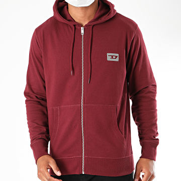 Diesel - Sweat Zippé Capuche Brandon 00SE8M-0HACX Bordeaux