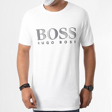 BOSS by Hugo Boss - Tee Shirt 50407774 Blanc Bleu Marine