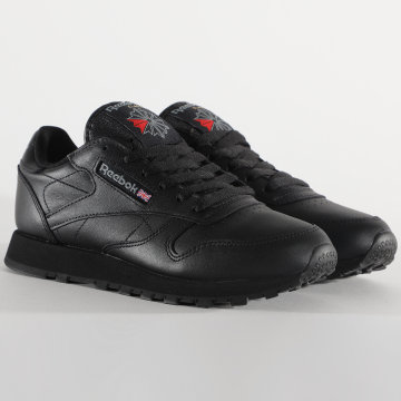 Reebok - Baskets Femme Classic Leather 49803 Black