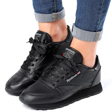 Reebok - Baskets Femme Classic Leather 49803 Black