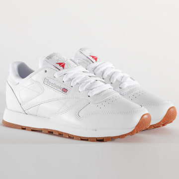 Reebok - Baskets Femme Classic Leather 49803 White Gum