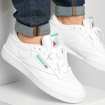 Reebok - Baskets Club C 85 AR0456 Intense White Green
