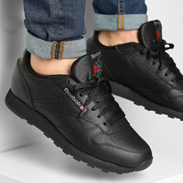 Reebok - Baskets Classic Leather 2267 Intense Black
