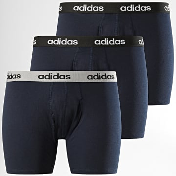 Adidas Performance - Lot De 3 Boxers FS8394 Bleu Marine