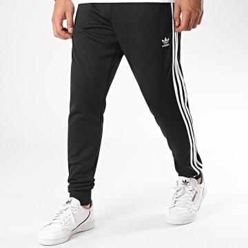 Adidas Originals - Pantalon Jogging A Bandes SST TP Prime Blue GF0210 Noir Blanc