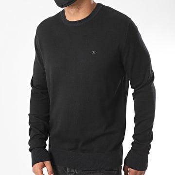 Calvin Klein - Pull Cotton Silk 4920 Noir