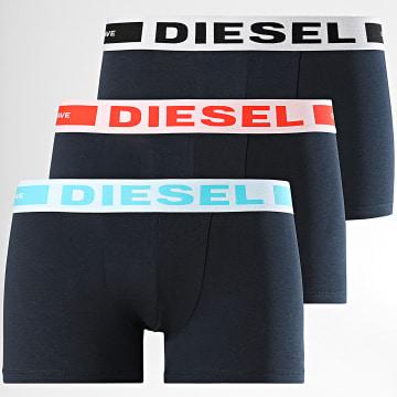 Diesel - Lot De 3 Boxers Kory 00CKY3-0BAOF Bleu Marine