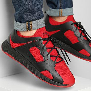 BOSS - Baskets Titanium Runn 50432784 Rouge Noir