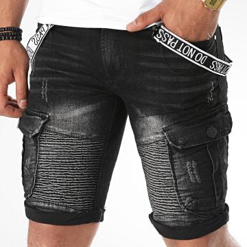 MTX - Short Jean E7525 Noir