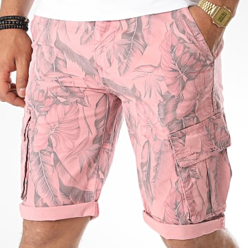 MTX - Short Cargo Floral 77301 Rose