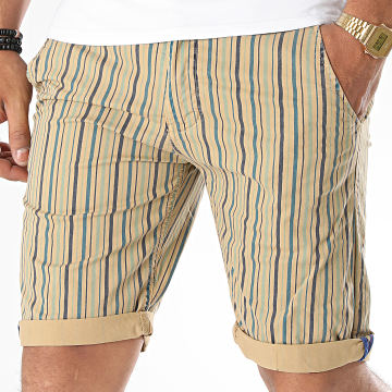MTX - Short Chino A Rayures XH22103 Beige