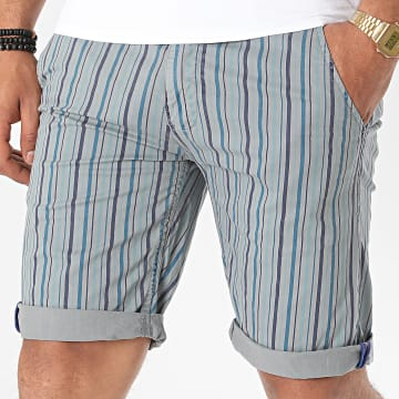 MTX - Short Chino A Rayures XH22103 Gris