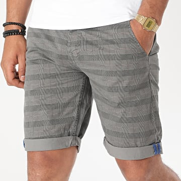 MTX - Short Chino A Carreaux XH22102 Gris