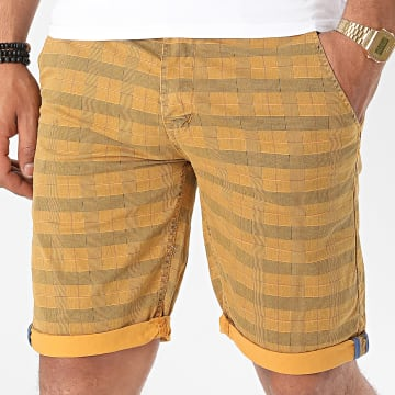 MTX - Short Chino A Carreaux XH22102 Camel