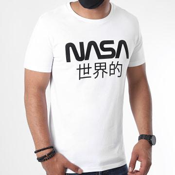 NASA - Tee Shirt Japan Logo Blanc Noir