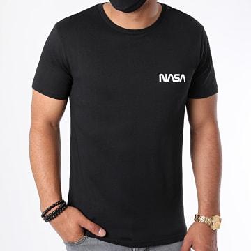 NASA - Tee Shirt Simple Chest Noir Blanc