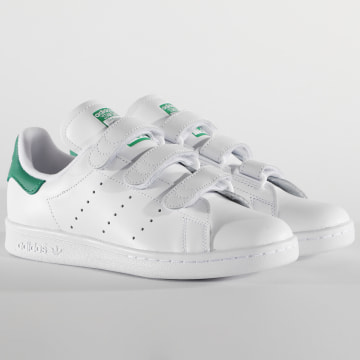 Adidas Originals - Baskets Femme Stan Smith CF S75188 Footwear White Green