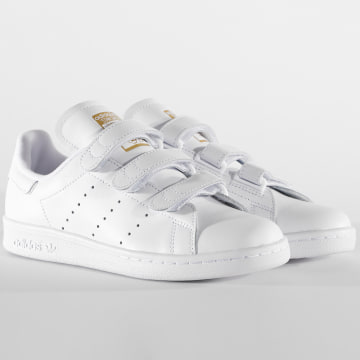 Adidas Originals - Baskets Femme Stan Smith CF S75188 Footwear White Gold Metallic