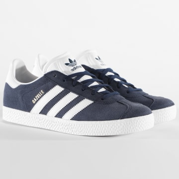 Adidas Originals - Baskets Femme Gazelle BY9144 Collegiate Navy Footwear White