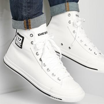 Diesel - Baskets Astico Mid Cut Y02370 Star White